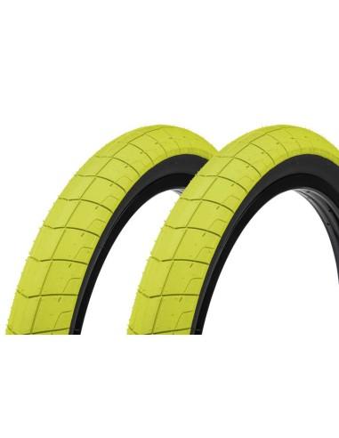 Tires pack ECLAT Fireball 20X240 Neon Yellow