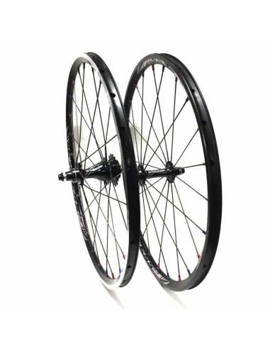 Wheelset Excess 20X 1-1/8 black