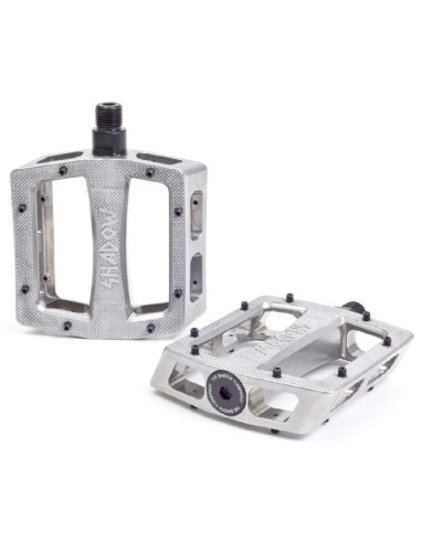 Pédales SHADOW CONSPIRACY Ravager Aluminium silver