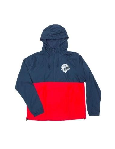 Jacket Odyssey Monogram Windbreaker navy/red taille M