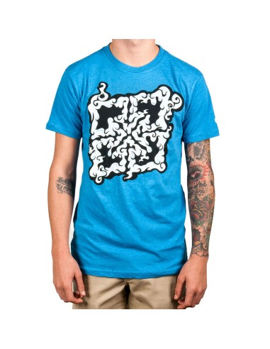 Tee Shirt FIT Trippy Key Bleu taille S