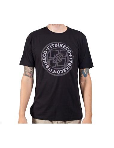 Tee Shirt FIT Sketched Emblem noir taille S