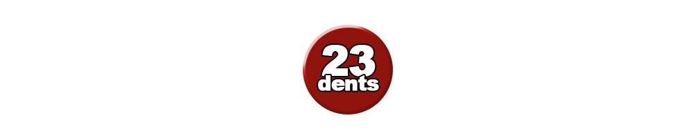 23 dents