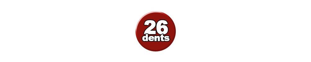 26 Dents